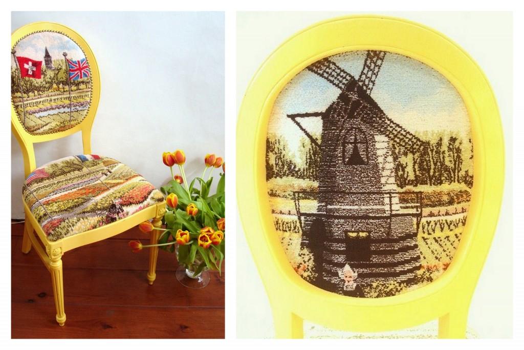 gele stoel
