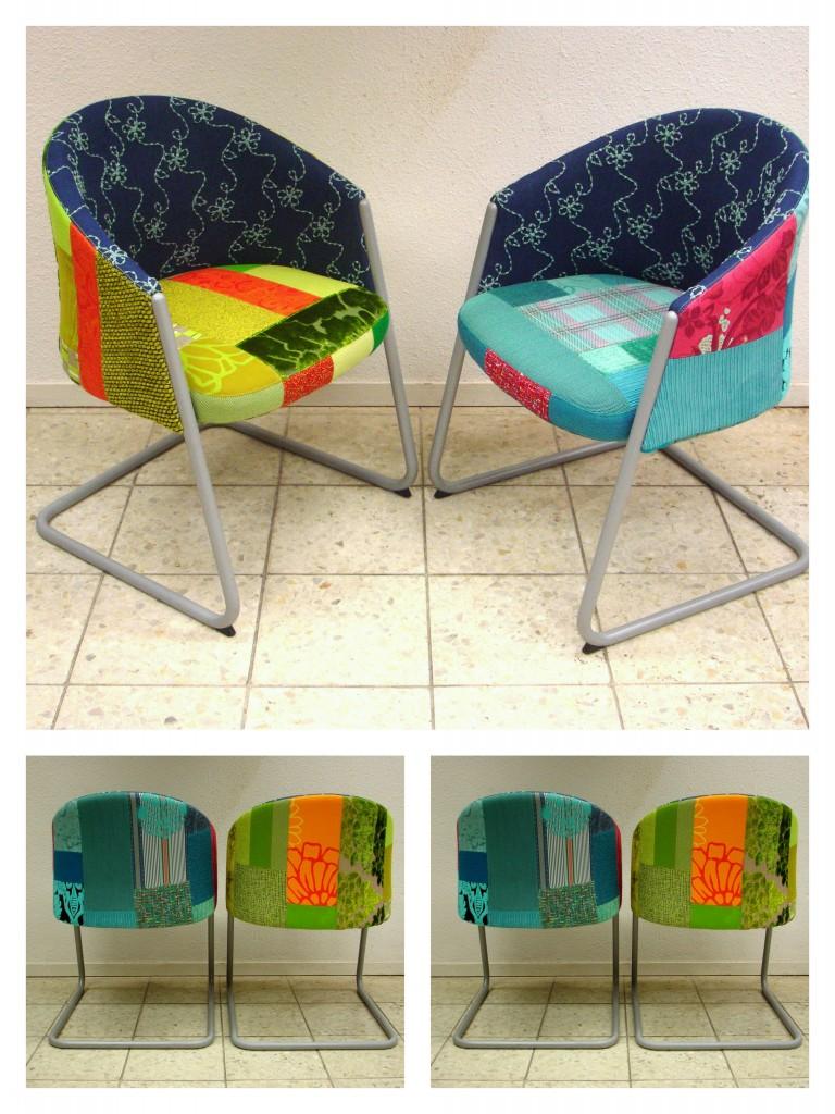 patchwork stoelen