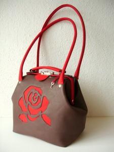 beugeltas roos nieuw