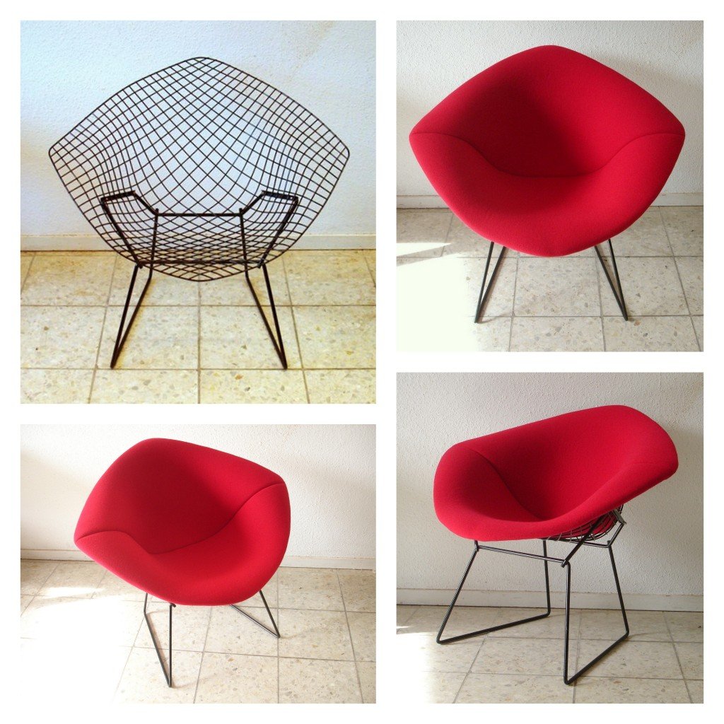 Bertoia Diamond stofferen